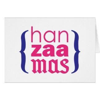 Happy Merry HanZaaMas Greeting Card