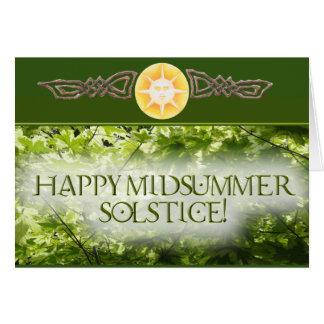 Happy Midsummer Solstice! Card