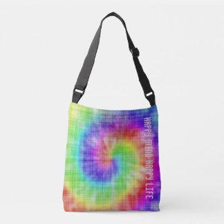 Happy Mind  Happy Life Designer Sling Bag Tote Bag