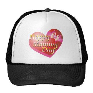 Happy Mommy Day Shirt Trucker Hats