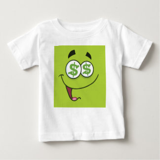 Happy Money Emoji Baby T-Shirt