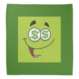 Happy Money Emoji Bandana