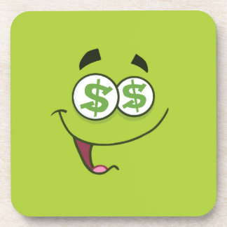 Happy Money Emoji Coaster