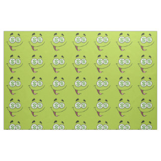 Happy Money Emoji Fabric