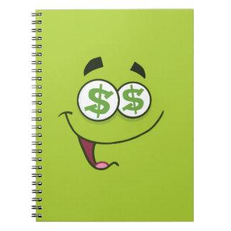 Happy Money Emoji Notebook