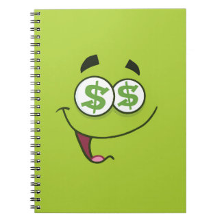 Happy Money Emoji Notebooks