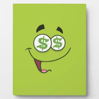 Happy Money Emoji Plaque