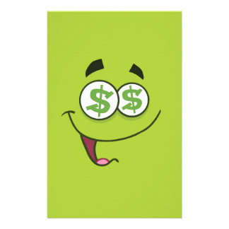Happy Money Emoji Stationery