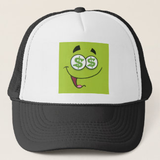 Happy Money Emoji Trucker Hat