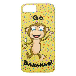 Happy Monkey Cell Phone Case