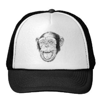 Happy Monkey Mesh Hats