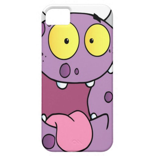 Happy Monster Cartoon Character iPhone 5 Cover