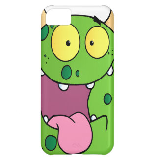 Happy Monster Cartoon Character Case For iPhone 5C