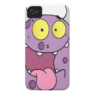 Happy Monster Cartoon Character iPhone 4 Cases