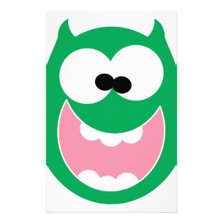 Happy Monster Customised Stationery