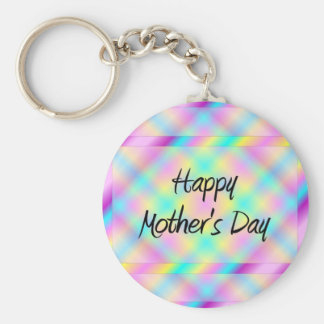 Happy Mother's Day Basic Round Button Key Ring