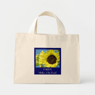 HAPPY Mother of the Bride! Tote bag gift Sunflower