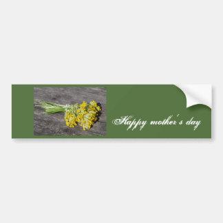 Happy mother´s day bumper sticker