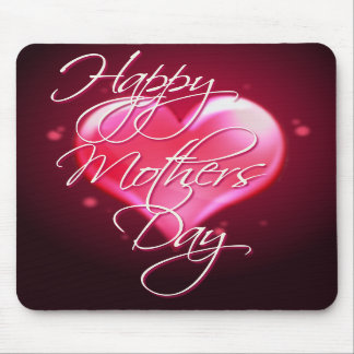 HAPPY MOTHER S DAY HEART by SHARON SHARPE Mouse Mat