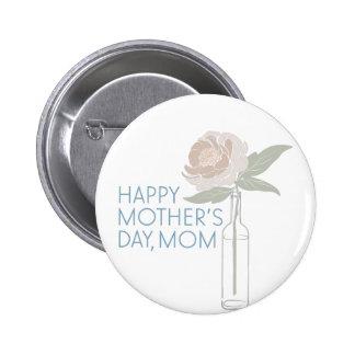 Happy Mothers Day 6 Cm Round Badge