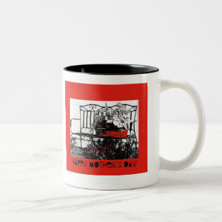 Happy Mother's Day, bench Coffee Mug