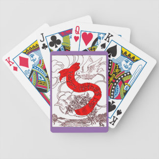 Happy Mother's Day Bicycle Playing Cards