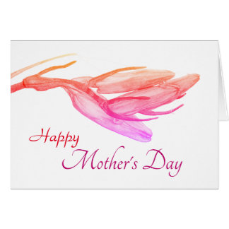 Happy Mother's Day | Birthday Bluebell Card
