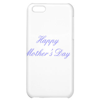 Happy Mother's Day Blue The MUSEUM Zazzle Gifts Case For iPhone 5C