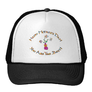 Happy-Mothers-Day Trucker Hat