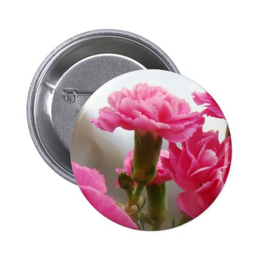Happy Mother's Day - Carnation Pin