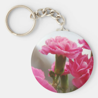 Happy Mother's Day - Carnation Key Chain