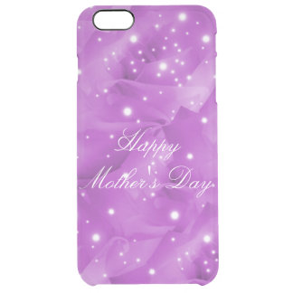 Happy Mother's Day Clear iPhone 6 Plus Case