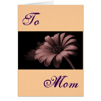 Happy Mother's Day Cocoa Daisy III Greeting Card