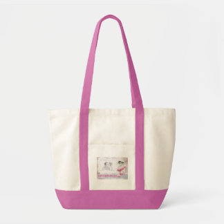 Happy Mother's Day Custom Photo Pink Tote Bag