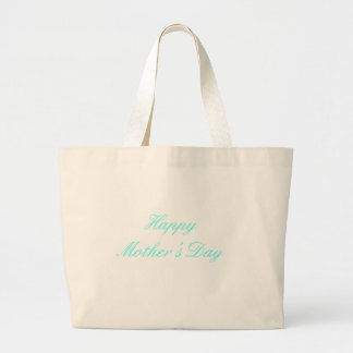 Happy Mother's Day Cyan The MUSEUM Zazzle Gifts Tote Bag