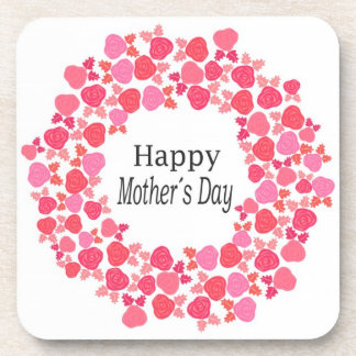 happy mothers day drink coaster