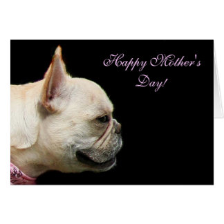 Happy Mother's Day French Bulldog notecard