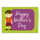 Happy Mother's Day from your son Card