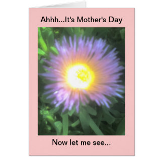 Happy Mother's Day funny Card