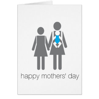 Happy Mothers' Day! Greeting Card