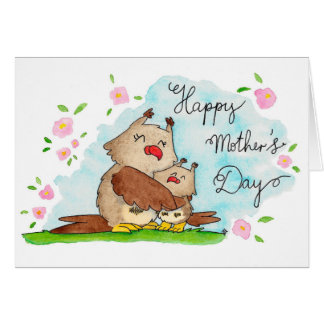 Happy Mother's Day greeting card by Nicole Janes
