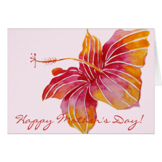 Happy Mother's Day  | Hawaiian Floral Card