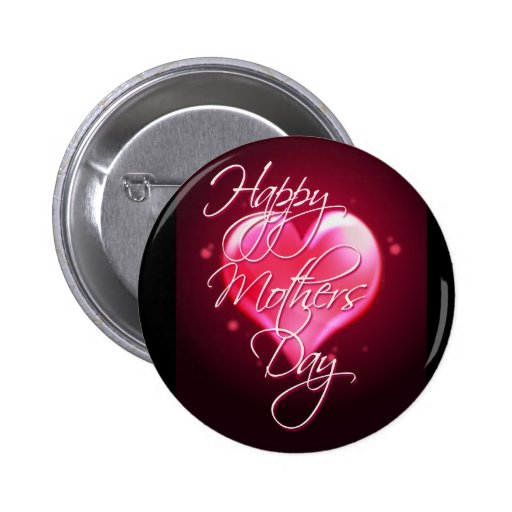 HAPPY MOTHER'S DAY HEART by SHARON SHARPE Pins
