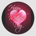 HAPPY MOTHER'S DAY HEART by SHARON SHARPE Stickers