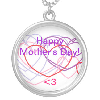 Happy Mother's Day Heart Necklace