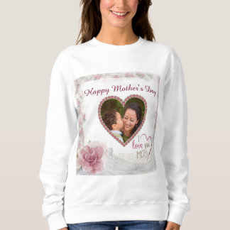 Happy Mother's Day Heart Personalized Sweatshirt