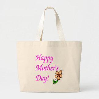Happy Mothers Day Jumbo Tote Bag