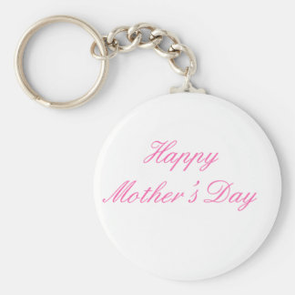 Happy Mother's Day Magenta The MUSEUM Zazzle Gifts Keychain