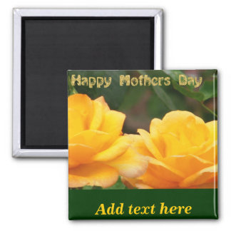 Happy Mother's Day_ Refrigerator Magnets