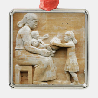 Happy Mother's Day Metal Ornament